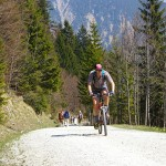 Biker im Frühling